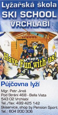 Ski School Vrchlabi